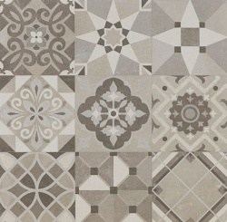 Argenta Powder Decor Warm Gres Patchwork Matowy 60x60 - okazja!